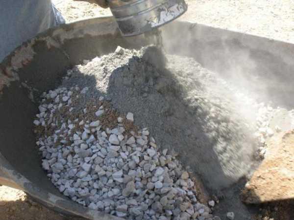 Фундамент из цементного раствора без щебня юки бетон