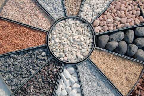 гравий в бетон для фундамента