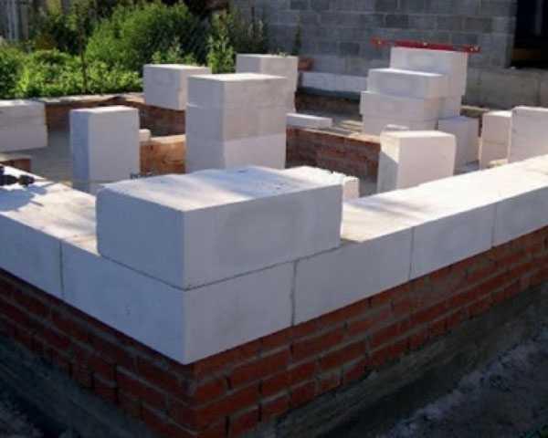 Кладка газобетонных блоков на раствор цементный грибки по бетону
