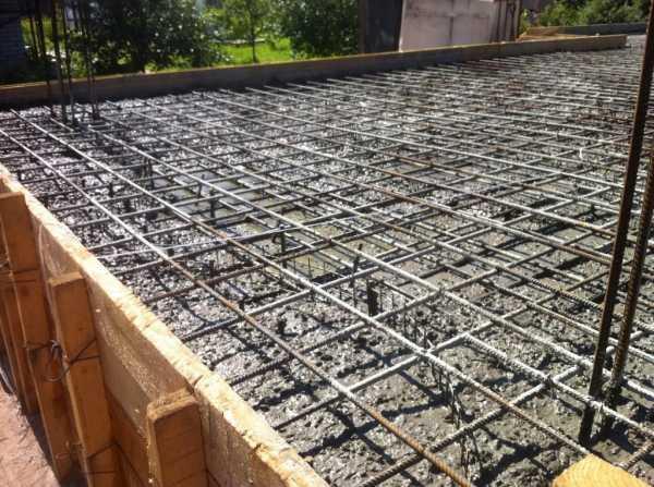формула заливки бетона