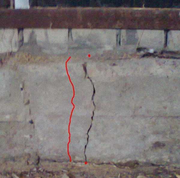 Лопнул бетон бетон купить саранск