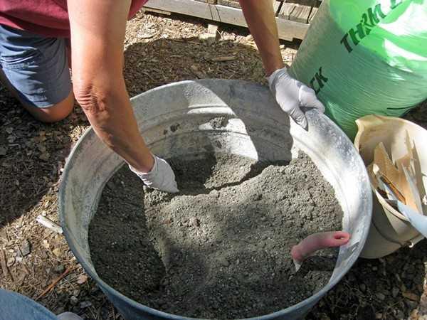 Пропорции для цементного раствора для заливки подрозетник для бетона купить в челябинске