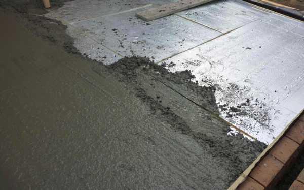 испарение бетона